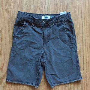 5t boys black jean shorts